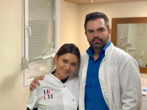 Elena Mijatović i dr Nemanja Petrovic